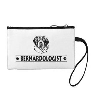 Funny St. Bernard Dog Change Purses
