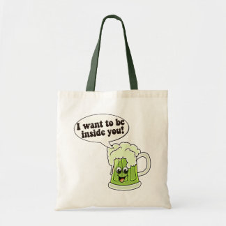 Funny St Patricks Day Canvas Bags