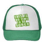 Funny St Patricks Day Drinking Humour Mesh Hat