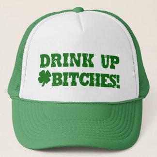 Funny St Patricks Day Drinking Trucker Hat