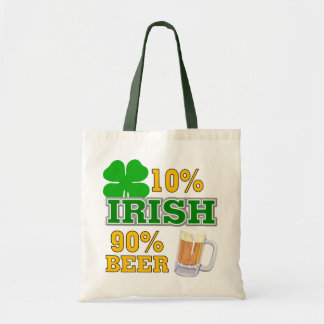 Funny St. Patrick's Day Gift Canvas Bags