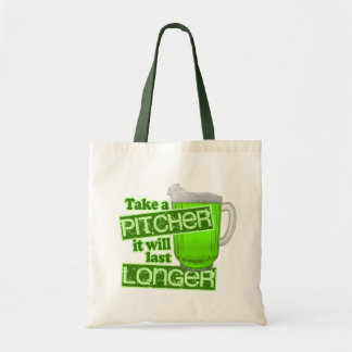 Funny St. Patrick's Day Green Beer Tote Bag