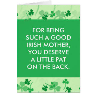 Funny St. Patrick's Day Greeting Card