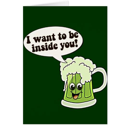 Funny St Patricks Day Irish Card