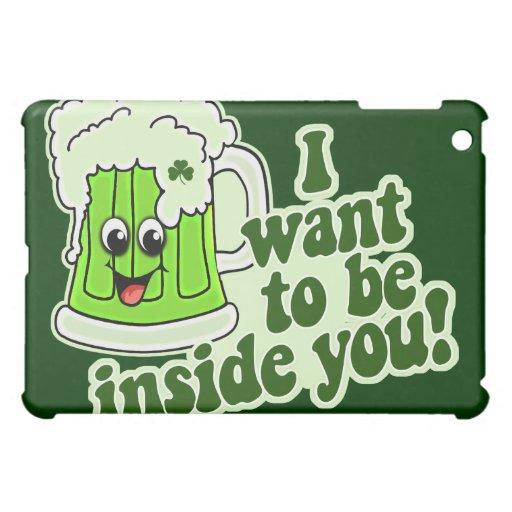Funny St Patricks Day Irish iPad Mini Cases