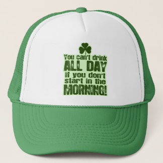 Funny St Patrick's Day Irish Trucker Hat