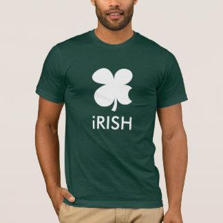 Funny St patrick's Day T-shirt | Apple logo parody