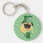 Funny St. Patrick's Irish Pug