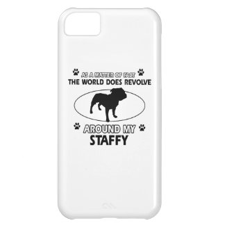 Funny staffy designs iPhone 5C covers