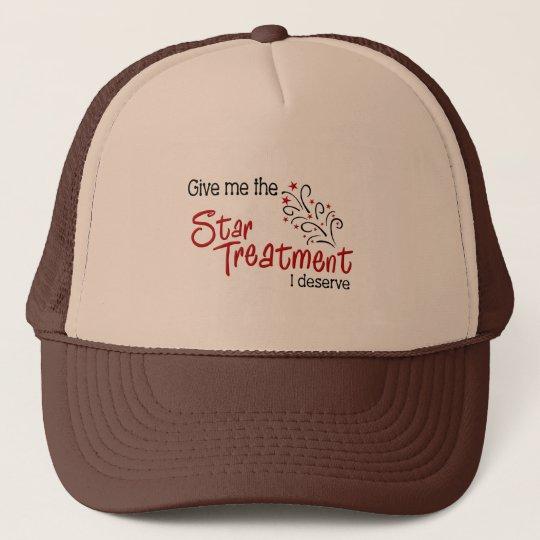 Funny Star Treatment Cap