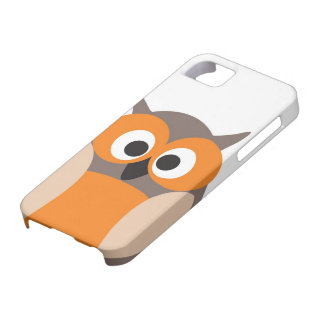 Funny staring owl iPhone 5 cover