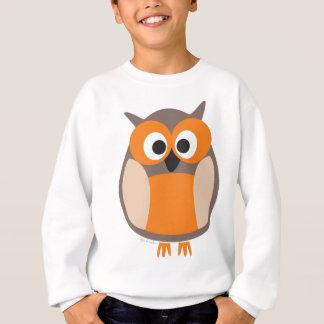 Funny staring owl sweatshirt
