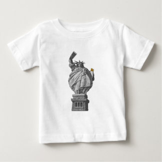 Funny statue of liberty baby T-Shirt