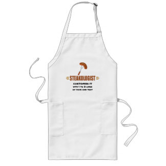 Funny Steak Long Apron