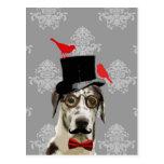 Funny steampunk dog