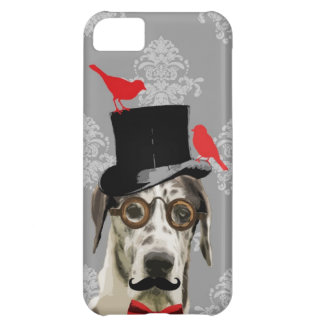 Funny steampunk dog case for iPhone 5C
