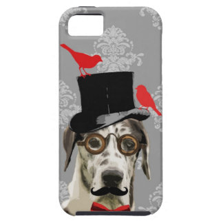 Funny steampunk dog iPhone 5 cases