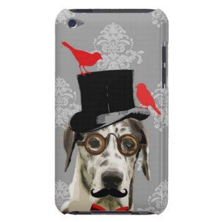 Funny steampunk dog Case-Mate iPod touch case