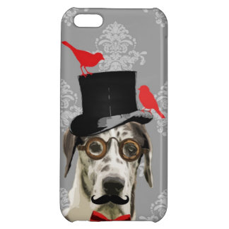 Funny steampunk dog iPhone 5C cover