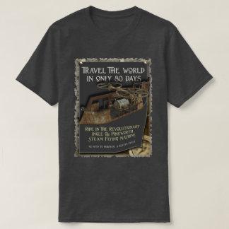 Funny Steampunk Flying Machine T-Shirt