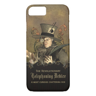 Funny Steampunk Mad Hatter iPhone 8/7 Case