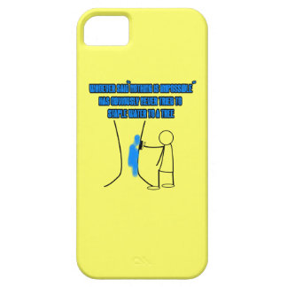 Funny stickman slogan barely there iPhone 5 case