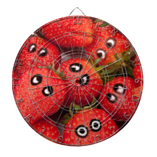 Funny strawberries. dartboards