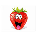 Funny Strawberry Face Sticking Out Tongue