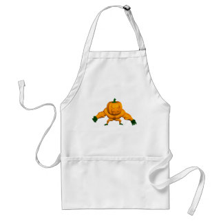 Funny Strong Halloween Creature Adult Apron