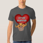 Funny Stud Muffin Valentine's Day T-shirt