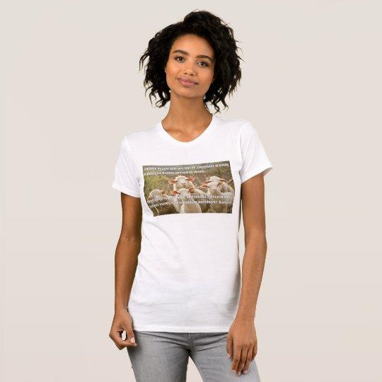 FUNNY STUFF! Women's Sheeple T-Shirt! T-Shirt