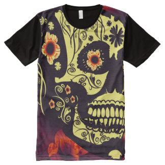 Funny sugar skull All-Over print T-Shirt