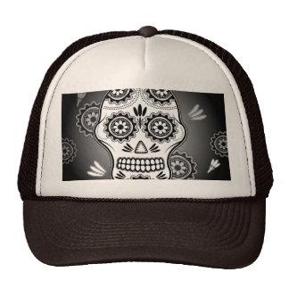 Funny  sugar skull cap