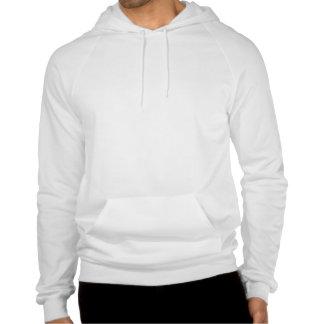 Funny sugar skull hooded sweatshirts