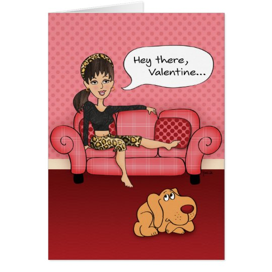 Funny Suggestive Valentines Day Card