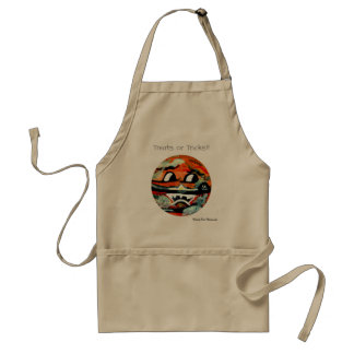 Funny Sun Faces Halloween Gifts Adult Apron
