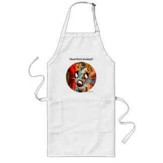 Funny Sun Faces Halloween Gifts Long Apron