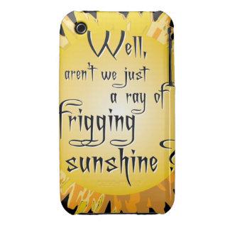 Funny Sunshine iPhone 3 Case-Mate Case