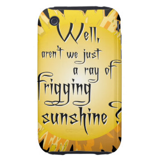 Funny Sunshine iPhone 3 Tough Cover