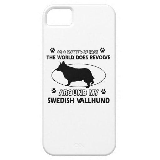 Funny swedish vallhund designs iPhone 5 covers