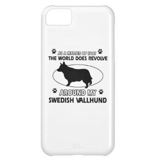 Funny swedish vallhund designs iPhone 5C cases
