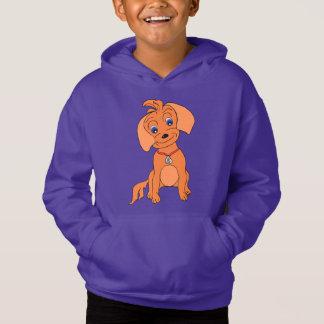 Funny sweet kids pullover hoodie - Happy