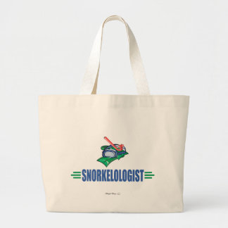 Funny Swimming, Snorkel Canvas Bags