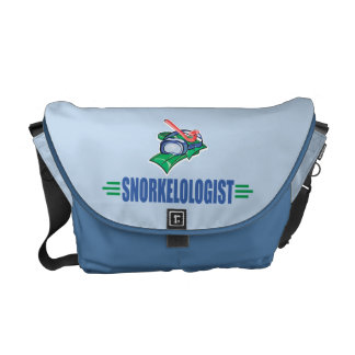 Funny Swimming, Snorkel Commuter Bags