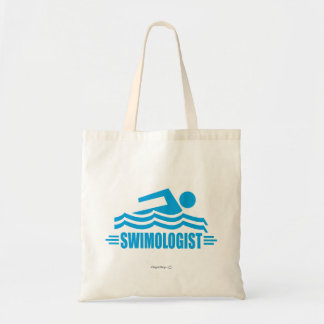 Funny Swimming Tote Bag