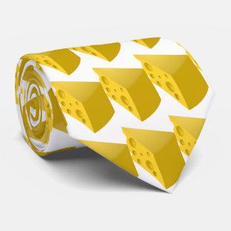 Funny Swiss gourmet cheese Tie