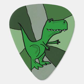 Funny T-Rex Dinosaur Guitar Pick