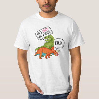 Funny T-Rex Shirt Dinosaur Triceratops I'm a Lover