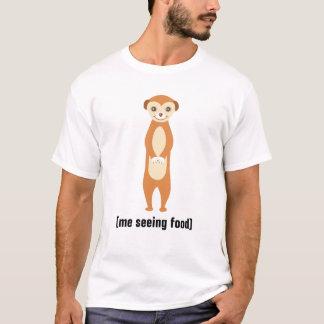 Funny T-Shirt Meerkat Custom Text Men's T-Shirt
