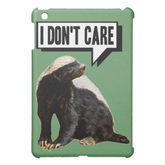 Funny Talking Honey Badger iPad Mini Case